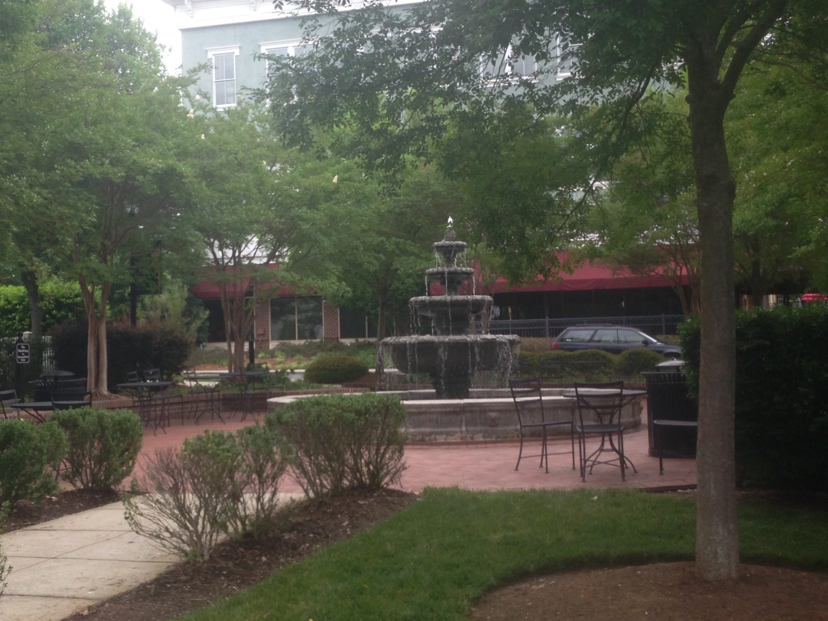 Baxter Village fort Mill with the Fountain and open plazas